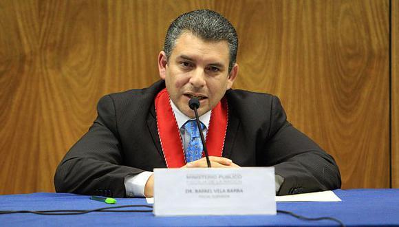El fiscal Rafael Vela señaló que los testimonios de los aspirantes a colaboración eficaz están debidamente corroborados. (Foto: GEC)