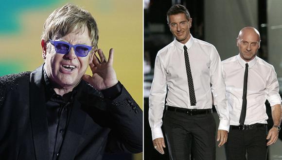 Dolce & Gabbana: respuesta a Elton John ante pedido de boicot