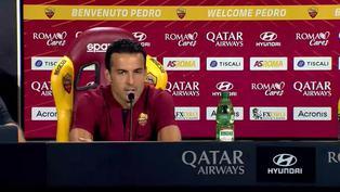 """Pedro Rodríguez tiene como objetivo """"volver a la Champions"""" con la Roma"""