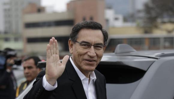 Presidente Martín Vizcarra señaló que Mercedes Araoz ya renunció a la vicepresidencia y nadie puede estar amarrado a un cargo (Foto: Antonhy Niño de Guzman)