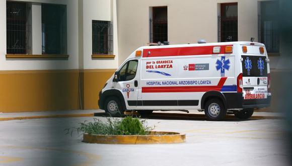 En mayo se produjo la renuncia del director del Hospital Arzobispo Loayza tras una serie de denuncias periodísticas. (Foto: Fernando Sangama /GEC) Loayza. (GEC)