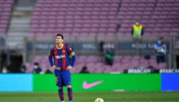 El argentino se despide del FC Barcelona luego de 16 temporadas en el club. (Foto: AFP)