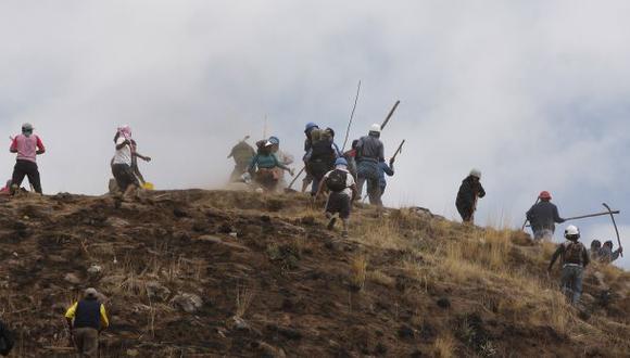 Disputa por terrenos en Cusco deja 10 heridos