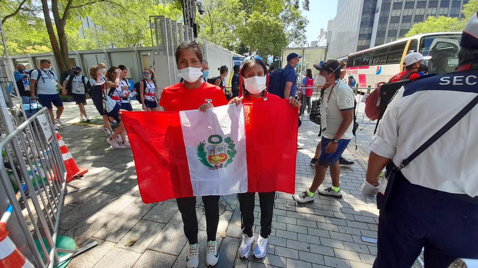 Gladys Tejeda y Jovana de la Cruz en Tokio 2020 | Foto: Christian Cruz Valdivia, enviado especial de El Comercio