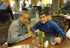 Maradona y por qué recibió como regalo una camiseta histórica de Universitario de Deportes