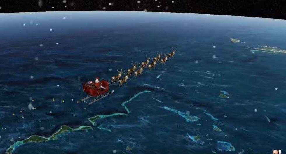 Navidad 2019 en el mundo: Sigue el recorrido de Papá Noel. (NORAD).