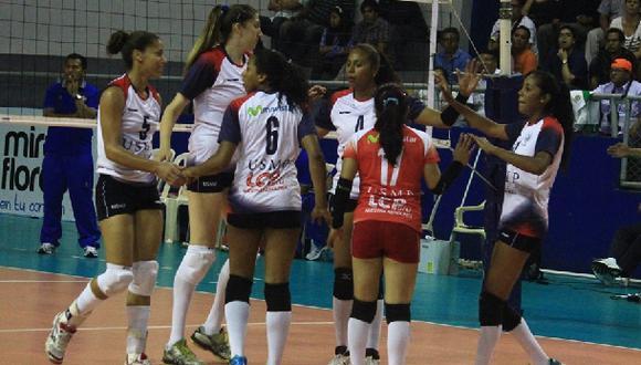Liga de vóley: San Martín logró su segunda victoria en torneo