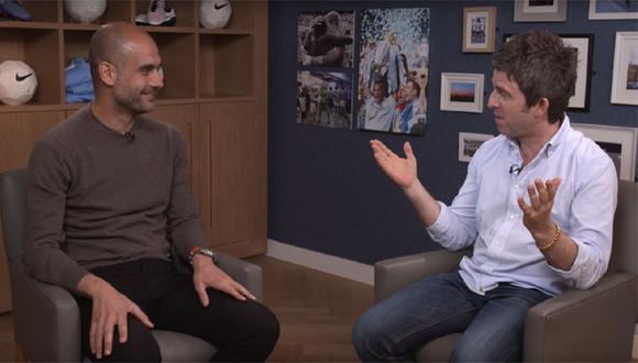 YouTube: Noel Gallagher entrevistó a Pep Guardiola [VIDEO]