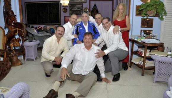 Fidel Castro se reunió con los 5 espías liberados por EE.UU.
