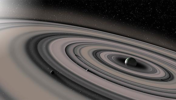 El anillo exterior de Saturno es más grande de lo que se creía