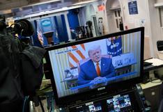 """Trump no menciona el impeachment, condena el asalto al Capitolio y pide a estadounidenses estar """"unidos"""""""