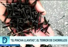 El 'Pincha llantas', el terror de Chorrillos