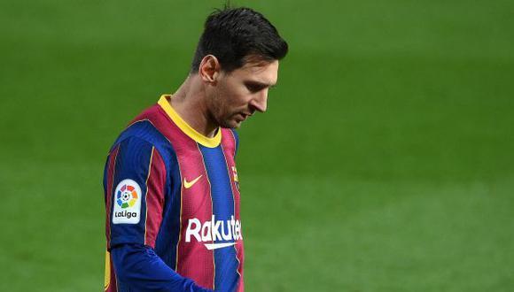 Lionel Messi recibió el lunes reciente a sus compañeros del Barcelona para un asado. (Foto: AFP)