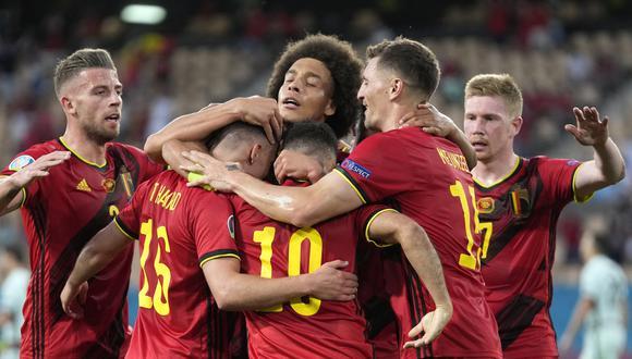 Bélgica celebra tres años seguidos como número 1 del ránking de la FIFA | Foto: EFE