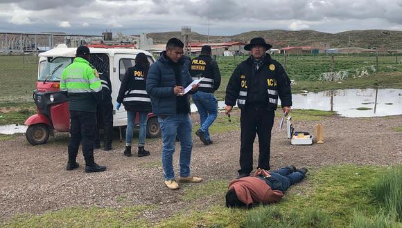 Feminicidio se registró en la ciudad de Juliaca, en la provincia de San Román. (Foto: PNP)