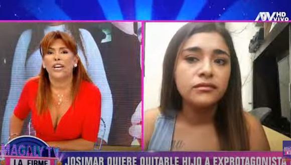 """Gianella Ydoña se comunicó con """"Magaly TV: La firme"""" tras ser denunciada por Josimar. (Foto: Captura ATV)"""
