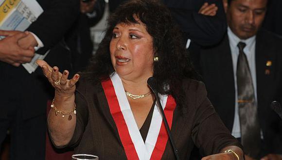 Congresista Celia Anicama renunció al Partido Nacionalista