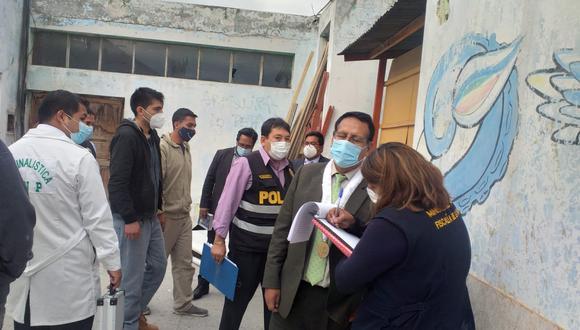 Según información fiscal, el hecho fatal ocurrió el pasado 7 de marzo cuando Ximena Rivera se encontraba acompañada de tres jóvenes en un edificio de Arequipa. (Foto: Ministerio Público)