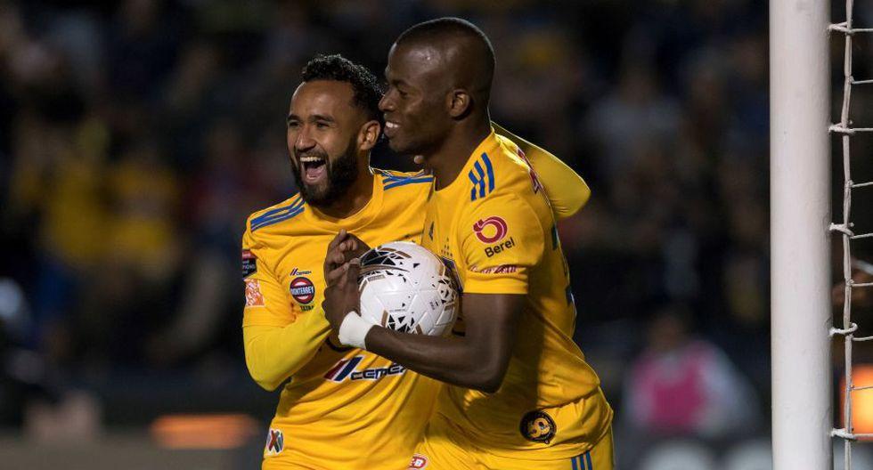 Tigres, con gol agónico de Nahuel Guzmán, clasificó a cuartos de final de la Concachampions | Foto: EFE
