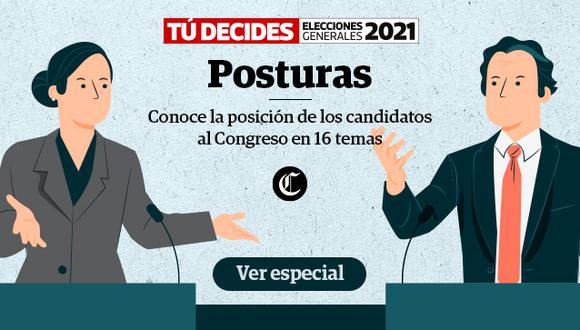 Especial: Conoce las posturas de los candidatos al Congreso.
