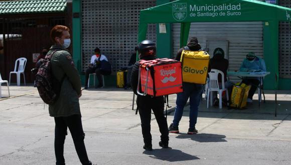 Las intervenciones se realizaron en la cuadra 4 del jirón Monterrey (Chacarilla) y en el cruce de las avenidas Caminos del Inca y Benavides. (Fernando Sangama / @photo.gec)