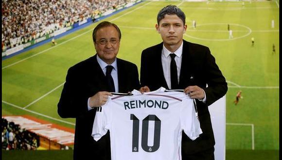 ¿Reimond Manco en el Real Madrid? Sí, pero en un meme
