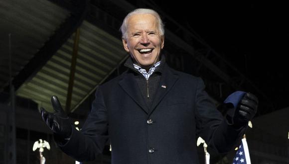 El candidato presidencial demócrata y exvicepresidente de los Estados Unidos, Joe Biden, durante un Drive-In Rally en Heinz Field en Pittsburgh, Pensilvania. (Foto: Archivo / JIM WATSON / AFP).