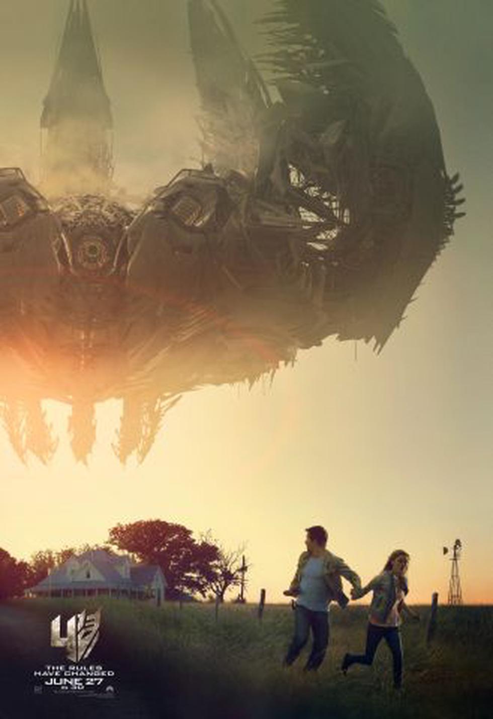"""""""Transformers: la era de la extinción"""": difunden nuevo póster - 2"""