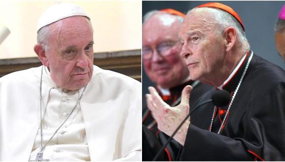 Papa Francisco ordena investigar caso del cardenal McCarrick en archivos del Vaticano (Foto: EFE/AP)