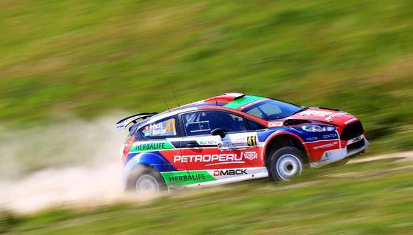 Fuchs acabó sexto el Rally Polonia