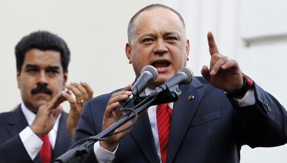 Venezuela: Diosdado Cabello anuncia demanda contra diario