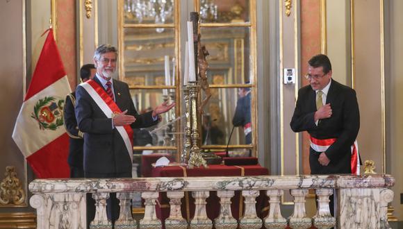Rubén Vargas había jurado al cargo de ministro del Interior el 18 de noviembre (Foto: PCM)