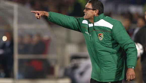 Mauricio Soria asumió la responsabilidad de entrenar a la selección boliviana luego de la partida de Guillermo Hoyos. (Foto: EFE)