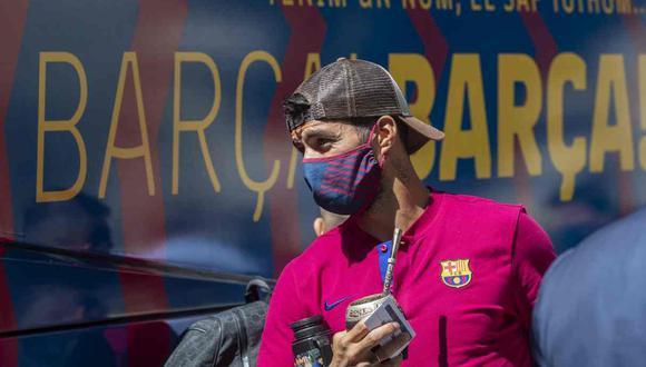 El mensaje de Luis Suárez en medio de los rumores sobre su futuro. (Foto: AP)