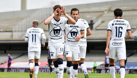 Pumas UNAM suma cuatro puntos en el Torneo Clausura 2021 de la Liga MX. (Foto: @golesycifras)