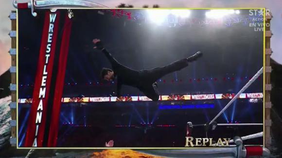 Bad Bunny debutó con triunfo en WrestleMania
