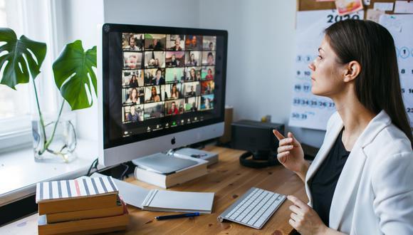 El trabajo remoto será un hábito que nos deje la pandemia. (Foto: Shutterstock)