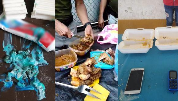 INPE intervino a 67 personas que intentaron ingresar objetos ilícitos y droga a penales del norte (Foto: INPE)
