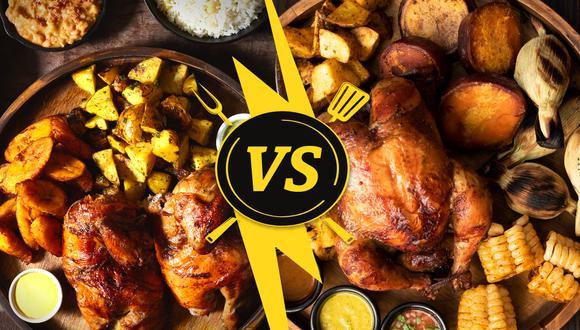 Esta semana probamos dos banquetes de La Leña, perfecto para que este domingo celebre el Día del Pollo a la Brasa. (Diseño: El Comercio// Fotos: La Leña)