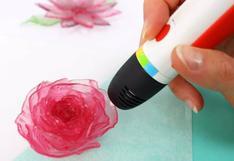 Un lápiz de impresión 3D para crear caramelos personalizados y comestibles