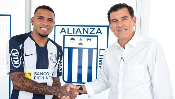 Alexi Gómez firmó por Alianza Lima para la temporada 2020. (Foto: Twitter)