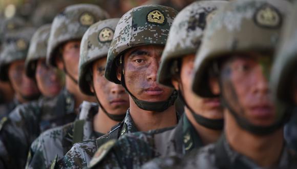 China acusó a India de ser responsable del incidente al franquear dos veces la frontera. Las tropas de las dos potencias nucleares están inmersas desde principios de mayo en varios enfrentamientos a lo largo de la frontera común, principalmente en Ladakh. (Foto referencial, INDRANIL MUKHERJEE / AFP).