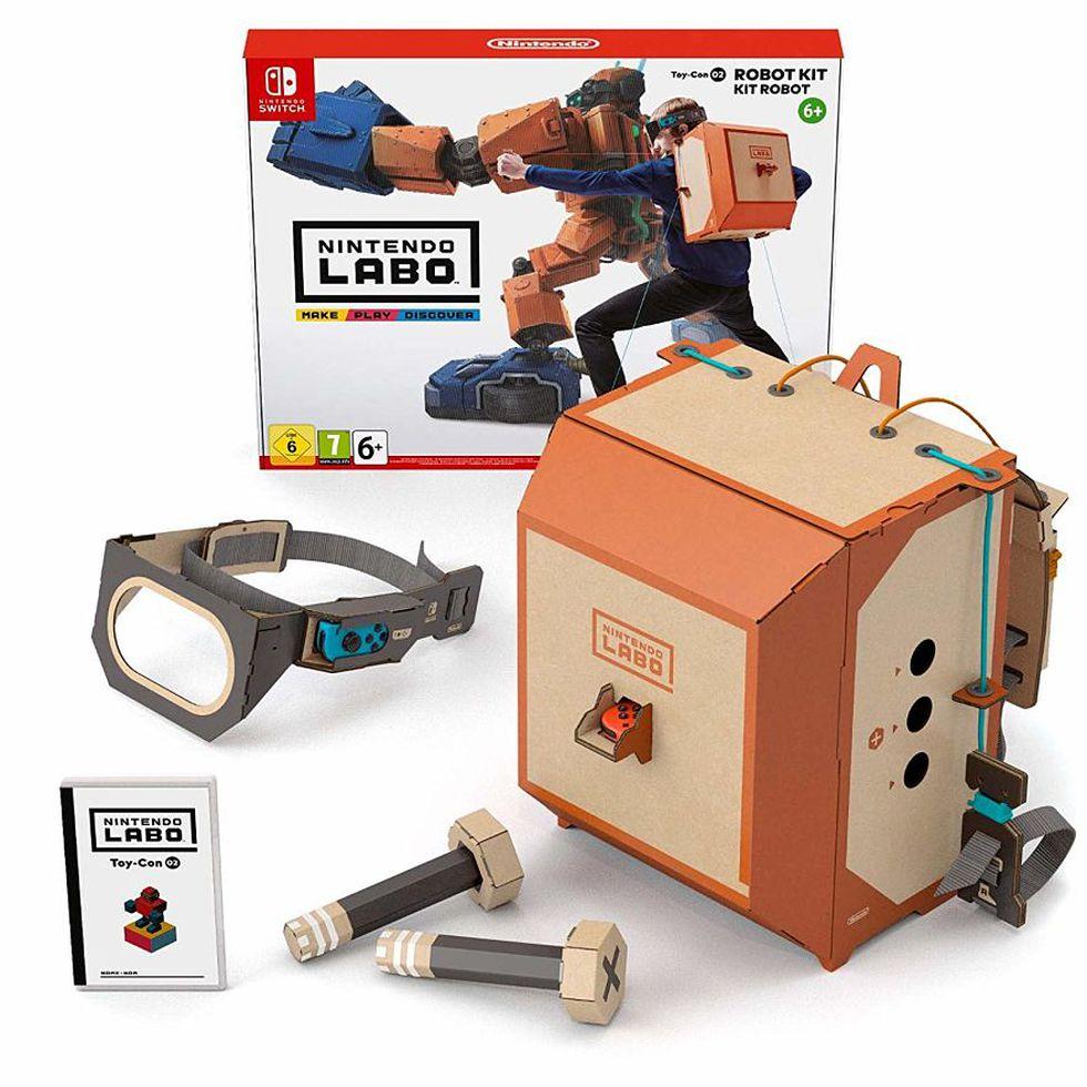 Nintendo Labo cambia la forma en que jugamos con los videojuegos. (Difusión)