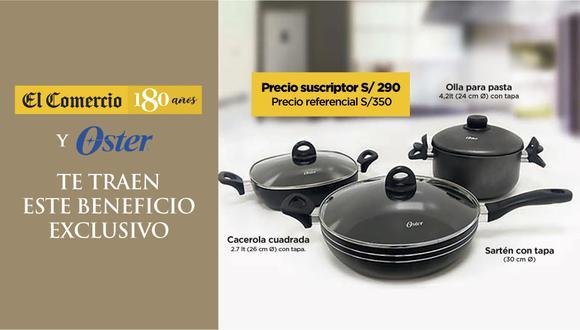 Un set de 6 piezas completo para disfrutar con la familia, contiene una olla para espagueti con tapa + sartén con tapa + cacerola con tapa + 2 manuales.