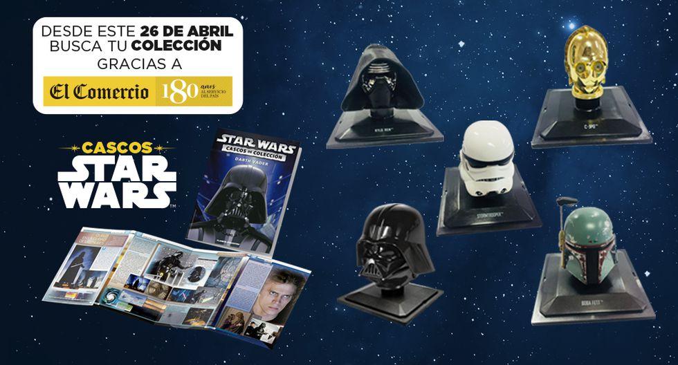 Colección Cascos Star Wars con El Comercio
