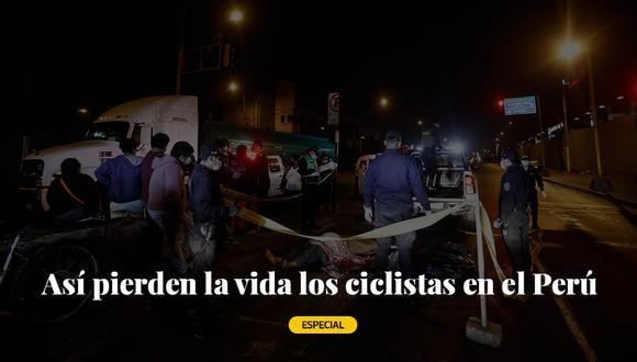 Así pierden la vida los ciclistas en el Perú   Especial