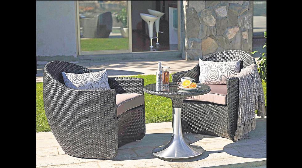 Muebles para la terraza: Cinco ideas para decorar tu casa - 4