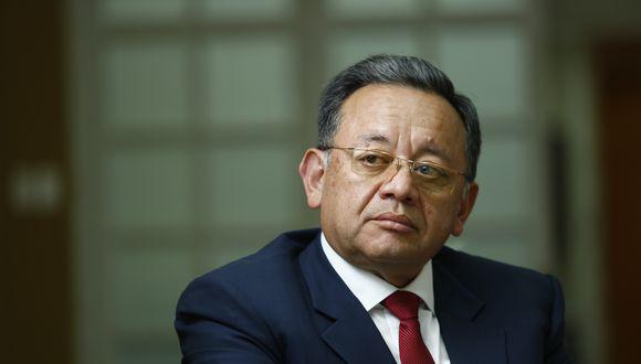 Edgar Alarcón afronta una denuncia constitucional en la Comisión Permanente. Este viernes 5 de marzo ejercerá su defensa. (Foto: GEC)