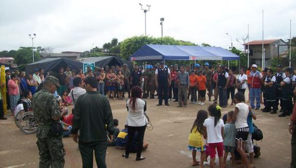 Ucayali: realizan primer simulacro de inundación por lluvias