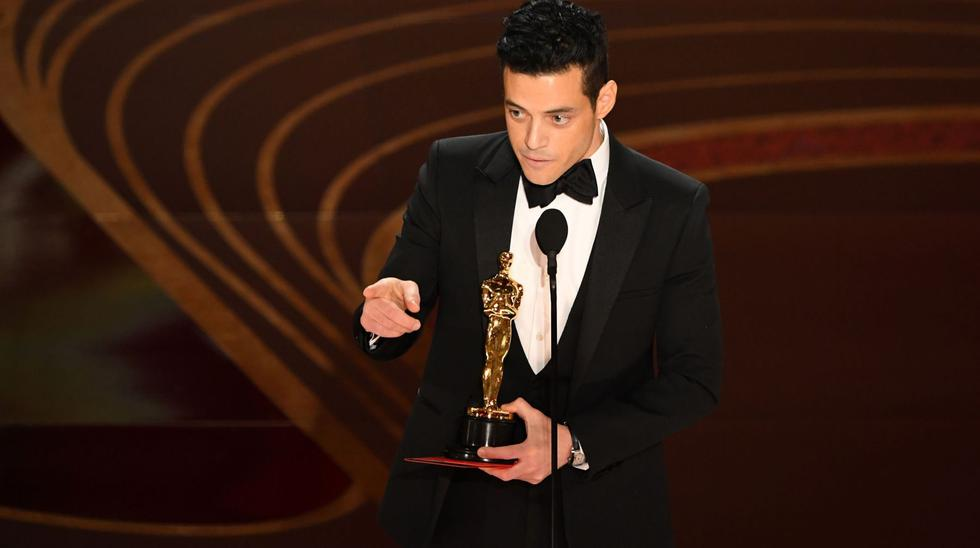 """Rami Malek se impuso como Mejor actor, por su fantástica interpretación de Freddie Mercury en el cine """"Bohemian Rhapsody"""". (Foto: Agencia)"""